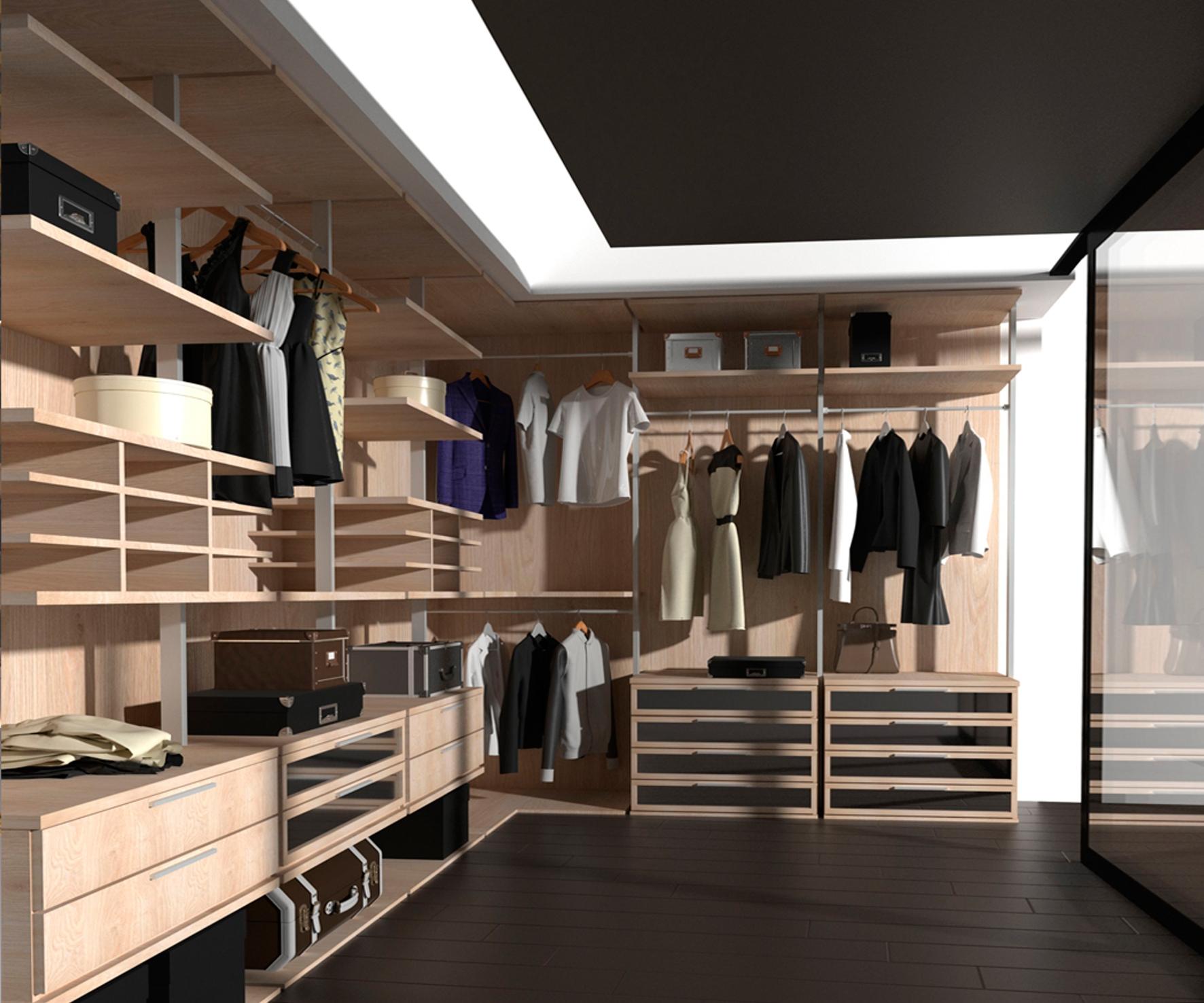 практичные гардеробные комнаты фото этом