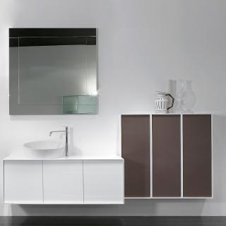 Мебель для ванной мегаполис дизайн ванная комната мрамор
